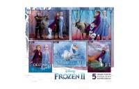 competitive Ceaco Disney Frozen 2 5pk Puzzles 2300pc, Adult Unisex reasonable cheap