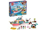 reasonable LEGO Friends Rescue Mission Boat 41381 Building Kit Sea Creatures for Creative Play 908pc cheap competitive