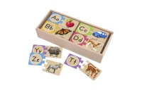 competitive Melissa & Doug Self-Correcting Alphabet Wooden Puzzles With Storage Box 27pc reasonable cheap