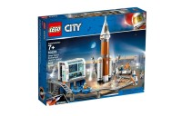 competitive LEGO City Space Deep Space Rocket and Launch Control 60228 Model Rocket Building Kit with Minifigures reasonable cheap