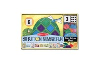 competitive Melissa & Doug Big Button Number Fun Counting and Matching Activity Set Board Game, Kids Unisex reasonable cheap