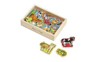 reasonable Melissa & Doug 20 Wooden Animal Magnets in a Box competitive cheap