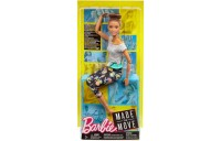 cheap Barbie Made To Move Yoga Doll - Floral Blue reasonable competitive
