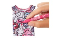 competitive Barbie Crayola Color-in Fashions Doll & Fashions cheap reasonable