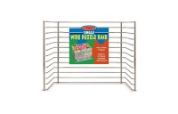 competitive Melissa & Doug Puzzle Storage Rack - Wire Rack Holds 12 Puzzles cheap reasonable
