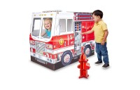 competitive Melissa & Doug Fire Truck Indoor Playhouse cheap reasonable