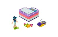 competitive LEGO Friends Emma's Summer Heart Box 41385 Building Kit with Toy Scooter and Mini Doll 83pc reasonable cheap