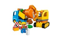 reasonable LEGO DUPLO Truck & Tracked Excavator 10812 competitive cheap