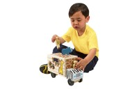 cheap Melissa & Doug Animal Rescue Shape-Sorting Truck - Wooden Toy With 7 Animals and 2 Play Figures reasonable competitive