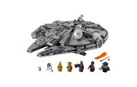 cheap LEGO Star Wars: The Rise of Skywalker Millennium Falcon Building Kit Starship Model with Minifigures 75257 competitive reasonable