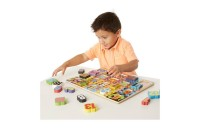 cheap Melissa & Doug Jumbo Numbers Wooden Chunky Puzzle (20pc) reasonable competitive