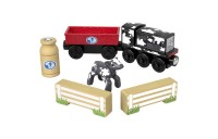 cheap Fisher-Price Thomas & Friends Wood Diesel's Dairy Drop-off reasonable competitive