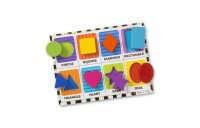 reasonable Melissa & Doug Wooden Chunky Puzzle Set - Wild Safari Animals and Shapes 16pc competitive cheap