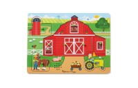 cheap Melissa & Doug Around the Farm Sound Puzzle 8pc competitive reasonable