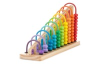 cheap Melissa & Doug Add & Subtract Abacus - Educational Toy With 55 Colorful Beads and Sturdy Wooden Construction reasonable competitive