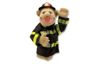 competitive Melissa & Doug Firefighter Puppet With Detachable Wooden Rod cheap reasonable