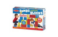 cheap Melissa & Doug Extra-Thick Cardboard Building Blocks - 24 Blocks in 3 Sizes competitive reasonable