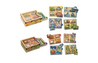 cheap Melissa & Doug Wooden Mini-Puzzle Set With Storage and Travel Case 32pc competitive reasonable