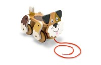 competitive Melissa & Doug Playful Puppy Wooden Pull Toy for Beginner Walkers cheap reasonable