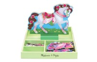 reasonable Melissa & Doug My Horse Clover Wooden Doll and Stand With Magnetic Dress-Up Accessories (60 pc competitive cheap