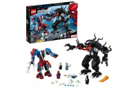 reasonable LEGO Marvel Spider Mech Vs. Venom Ghost Spider Superhero Playset with Web Shooter 76115 competitive cheap