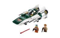 cheap LEGO Star Wars: The Rise of Skywalker Resistance A-Wing Starfighter 75248 Advanced Collectible Starship Model Building Kit 269pc competitive reasonable