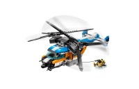 reasonable LEGO Creator Twin-Rotor Helicopter 31096 Toy Helicopter Building Set with Submarine 569pc cheap competitive