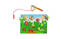 reasonable Melissa & Doug Magnetic Wooden Puzzle Game Set: Fishing and Bug Catching cheap competitive
