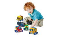 competitive Melissa & Doug Pull-Back Construction Vehicles - Soft Baby Toy Play Set of 4 Vehicles cheap reasonable