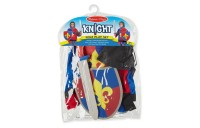 competitive Melissa & Doug Knight Role Play Costume Dress-Up Set (4pc), Adult Unisex, Gold cheap reasonable