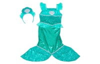 competitive Melissa & Doug Mermaid Role Play Costume Set - Gown With Flaired Tail, Seashell Tiara, Women's cheap reasonable