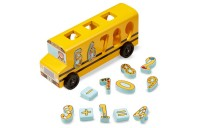 competitive Melissa & Doug Number Matching Math Bus - Educational Toy With 10 Numbers, 3 Math Symbols, and 5 Double-Sided Cards reasonable cheap