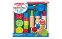 reasonable Melissa & Doug Shape, Model, and Mold Clay Activity Set - 4 Tubs of Modeling Dough and Tools competitive cheap