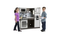 reasonable Melissa & Doug Chef's Kitchen Pretend Play Set - Charcoal competitive cheap