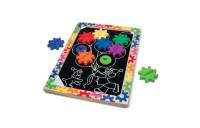 reasonable Melissa & Doug Switch and Spin Magnetic Gear Board - Educational Toy With 8 Gears and 5 Double-Sided Designs Board Game, Kids Unisex cheap competitive