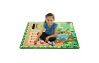 competitive Melissa & Doug Round the Ranch Horse Activity Rug (39 x 36 inches) With 4 Play Horses and Folding Fence cheap reasonable