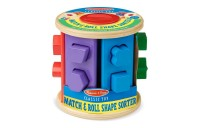 reasonable Melissa & Doug Match and Roll Shape Sorter - Classic Wooden Toy competitive cheap