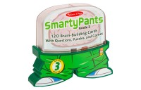 competitive Melissa & Doug Smarty Pants 3rd Grade Card Set 120 Educational Brain-Building Questions Puzzles, and Games, Kids Unisex reasonable cheap