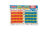 cheap Melissa & Doug Flip to Win Travel Bingo Game - 2 Wooden Game Boards, 4 Double-Sided Cards, Kids Unisex reasonable competitive