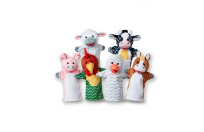 competitive Melissa & Doug Barn Buddies Hand Puppets 6pc cheap reasonable