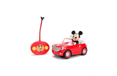"reasonable Jada Toys Disney Junior RC Mickey Mouse Club House Roadster Remote Control Vehicle 7"" Glossy Red cheap competitive"
