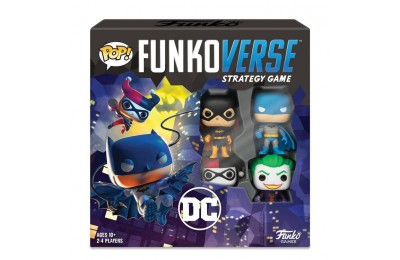cheap Funkoverse Board Game: DC Comics #100 Base Set competitive reasonable