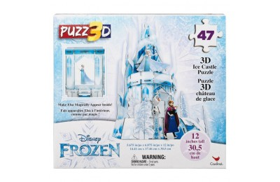 cheap Cardinal Disney Frozen 3D Hologram Ice Castle Puzzle 47pc, Kids Unisex competitive reasonable