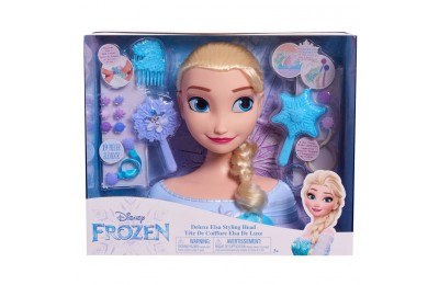 competitive Disney Princess Elsa Deluxe Styling Head reasonable cheap