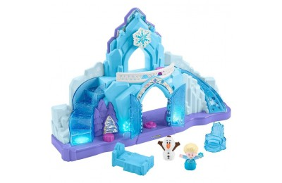 competitive Fisher-Price Little People Disney Frozen Elsa's Ice Palace reasonable cheap