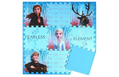 cheap Disney Frozen 2 9pc Tile Foam Interlocking Fitness Mats reasonable competitive