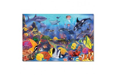 reasonable Melissa And Doug Underwater Ocean Floor Puzzle 48pc cheap competitive