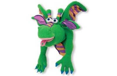 reasonable Melissa & Doug Smoulder the Dragon Puppet With Detachable Wooden Rod for Animated Gestures cheap competitive