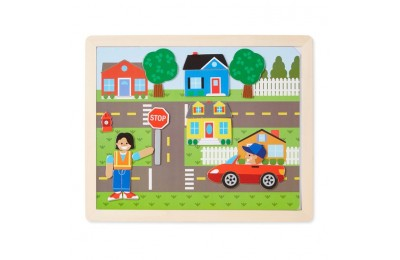 reasonable Melissa & Doug Magnetic Matching Picture Game 119pc cheap competitive
