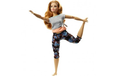 reasonable Barbie Made To Move Doll - Floral Peach cheap competitive